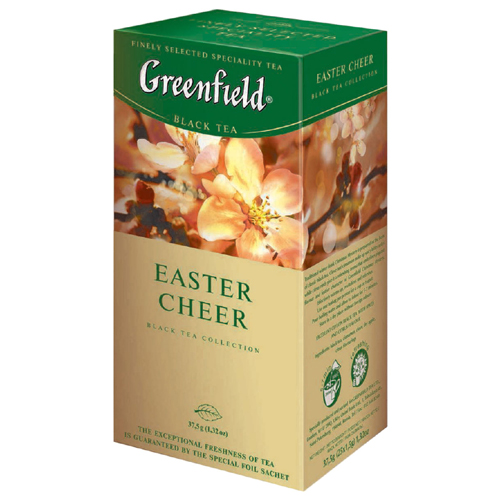 Черный чай Greenfield Easter Cheer 25 пак.*1,5 гр