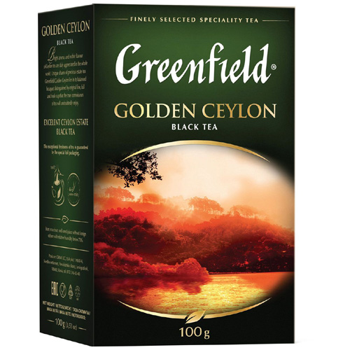 Черный чай Greenfield Golden Ceylon 100 гр