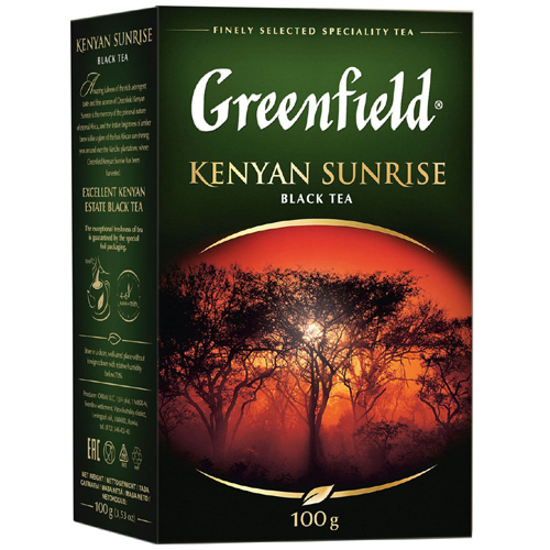 Черный чай Greenfield Kenyan Sunrise 100 гр