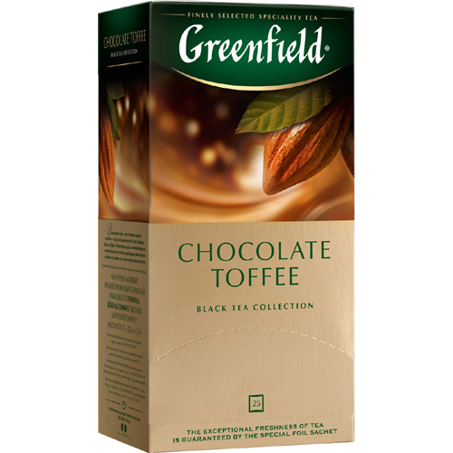 Черный чай Greenfield Chocolate Toffee 25 пак.*1,5 гр