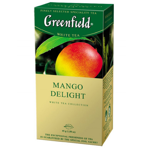 Белый чай Greenfield Mango Delight 25 пак.*1,8 гр