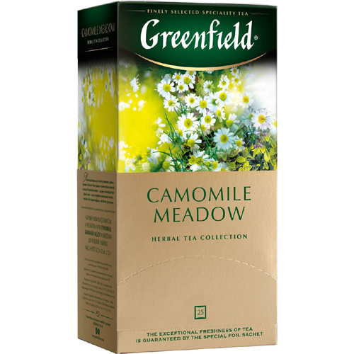 Травяной чай Greenfield Camomile Meadow (ромашка, мед, личи) 25 пак.*1,5 гр