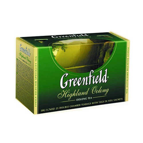 Оолонг чай Greenfield Highland Oolong 25 пак.*2 гр